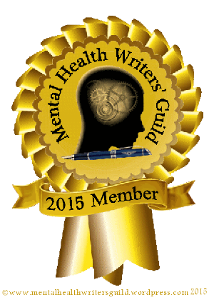 Mental health writers guild logo